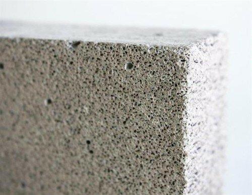 поризованного бетонов