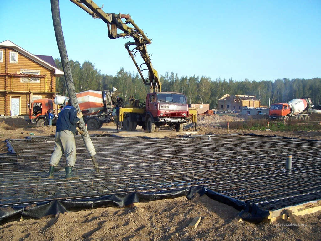 Бригада по заливке бетона москва бетон гараж